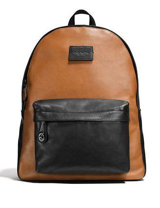 时尚双肩包!COACH Campus Backpack 运动小牛皮男女旅行双肩包3.7折 238.12元限时清仓并包邮!