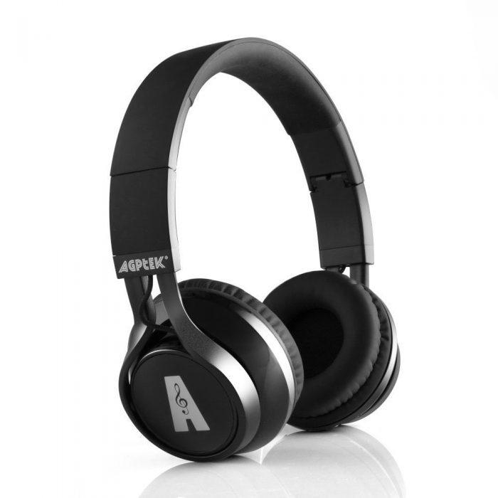 AGPtek折叠式蓝牙无线立体声降噪耳机 23.79元限量特卖,原价 33.65元