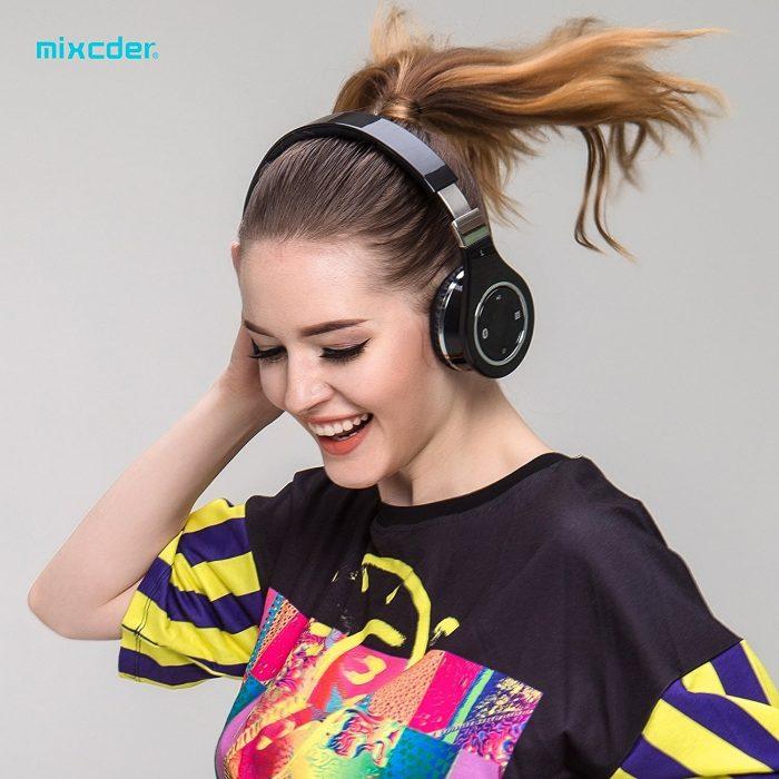 Mixcder 折叠式蓝牙无线耳机 35.99元限量特卖,原价 45.99元,包邮