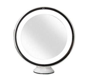 Fancii 360度旋转8倍放大化妆镜 26.89元,原价 33.99元,包邮