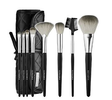 SEPHORA COLLECTION Tools Of The Trade Brush Set 化妆工具套装 59.2元,原价 74元(价值 190元),包邮