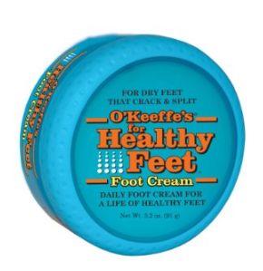 拯救脚后跟的神器!O'Keeffe's 3.2盎司健康足部护理霜9.60元特卖!