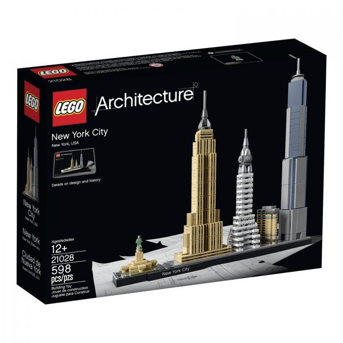 LEGO 乐高 Architecture 21028  建筑系列纽约城市积木(598pcs)7.7折 58加元包邮!