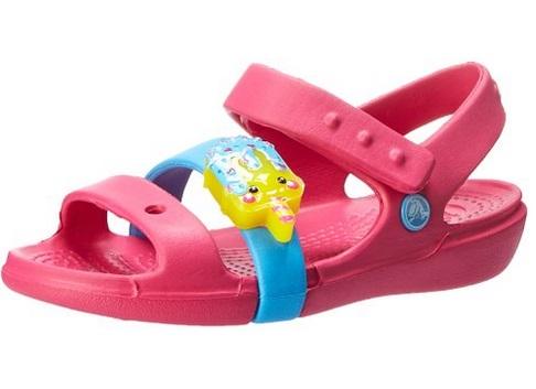 Crocs 儿童糖果凉鞋 10.78元起特卖(2色可选),原价 44.99元