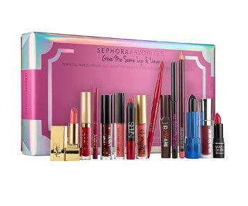 美唇必备!Sephora Favorites Give Me 唇膏14件套 57.6元,原价 72元(价值 222元),包邮