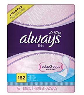 精选多款 Always 女用卫生护垫/卫生巾 5.9折起特卖!