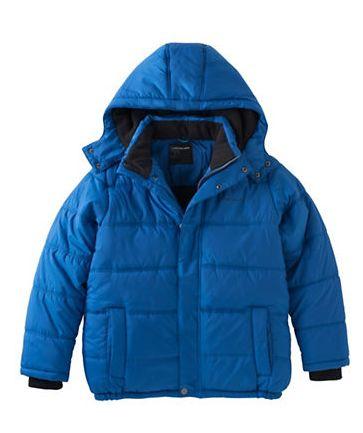 精选 6款CALVIN KLEIN儿童防寒服 45.64-50.74元,原价 89.5-99.5元