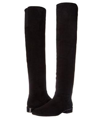 Stuart Weitzman 黑色麂皮长靴 446.68元(6码),原价 942.3元,包邮