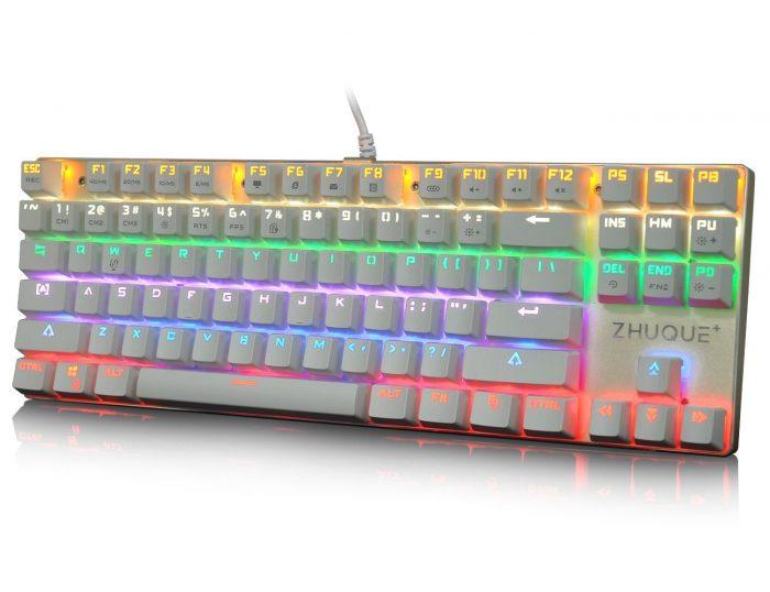 Hcman Teamwolf 狼派 Zhuque 朱雀CIY青轴机械游戏键盘 39.99元,原价 69.99元,包邮