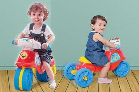 销量冠军!VTech 伟易达二合一儿童益智滑行车/三轮摩托车4.6折 25加元!