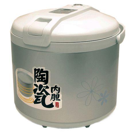 Hannex 6杯量陶瓷内胆电饭煲74.94元限时特卖并包邮!