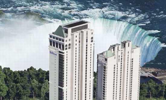 大瀑布 Hilton Hotel 希尔顿酒店套房 3.4折起!