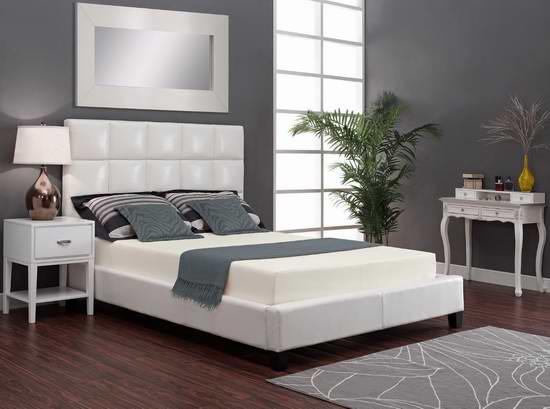 售价大降!历史新低!DHP Signature Sleep 8英寸记忆海绵Full床垫2.6折 99.99元限时清仓并包邮!