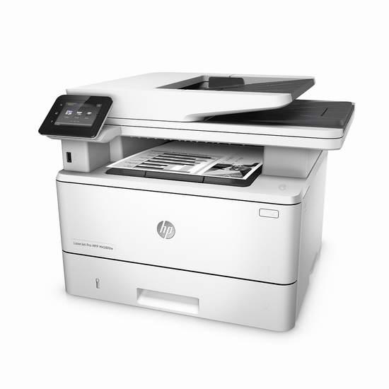 历史最低价!HP 惠普 LaserJet Pro M426fdw 专业多功能无线黑白激光打印机 299.99加元包邮!