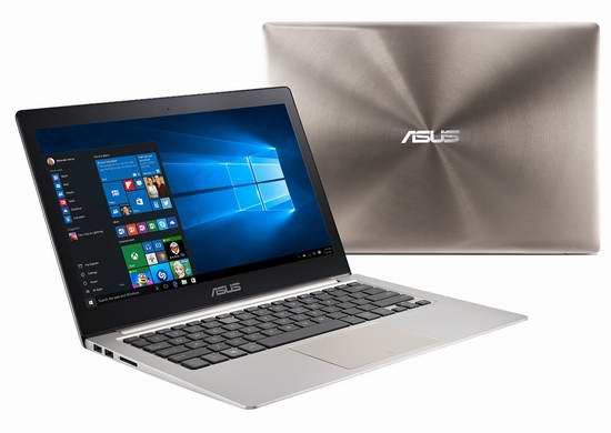 极致轻薄!ASUS 华硕 ZenBook UX303UB 13.3英寸玫瑰金触控屏笔记本电脑1517元限时特卖并包邮!
