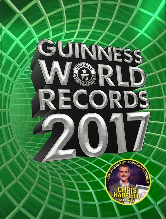 历史新低!世界上最畅销的版权图书!Guinness World Records《吉尼斯世界纪录大全》2017版4.2折 14.75加元限时特卖!