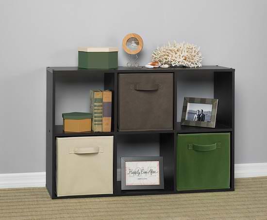 历史新低!ClosetMaid 78815 Cubeicals 6格收纳柜3.5折 57.77元限时特卖并包邮!