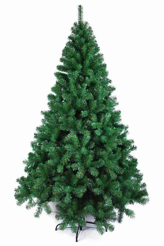 精选2款 holidaystuff 6-7英尺圣诞树69.99元起限时清仓并包邮!