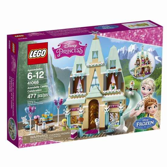 LEGO 乐高 41068 迪士尼公主系列 艾伦戴尔城堡庆典积木套装(477pcs)7.5折 56加元限时特卖并包邮!
