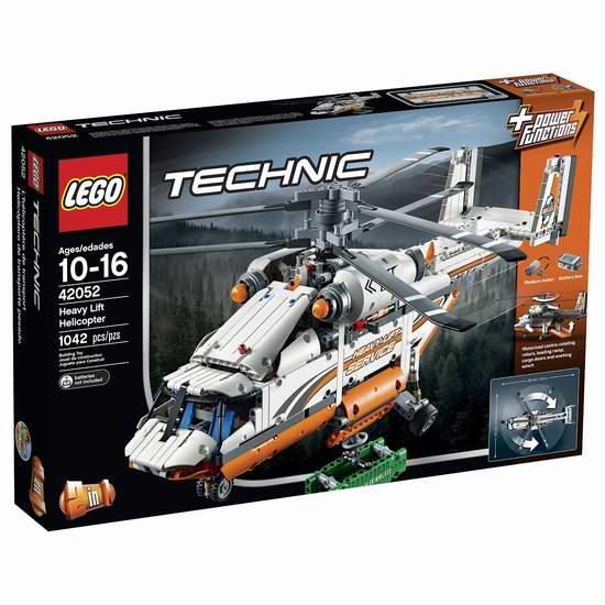 LEGO 乐高 42052 机械组次旗舰 2合1重型运输直升机6.9折 124.99加元包邮!