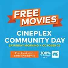 就在明天!Cineplex 社区日,全国连锁影院10月22日9-11点5部热门大片免费看!