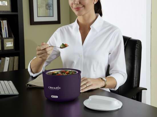 Crock-Pot SCCPLC240 24盎司便携式电热保温午餐饭盒 29.99元限时特卖!三色可选!