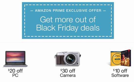Amazon Prime会员福利:免费使用Prime云存储空间,送60元消费券!