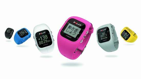 历史最低价上直降30元!Polar A300 运动健身腕表/活动追踪手环4.7折 79.97元限时特卖并包邮!三色可选!