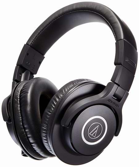 销量冠军!Audio-Technica 特三角 ATH-M40x 头戴式专业级耳机5.5折 99加元包邮!