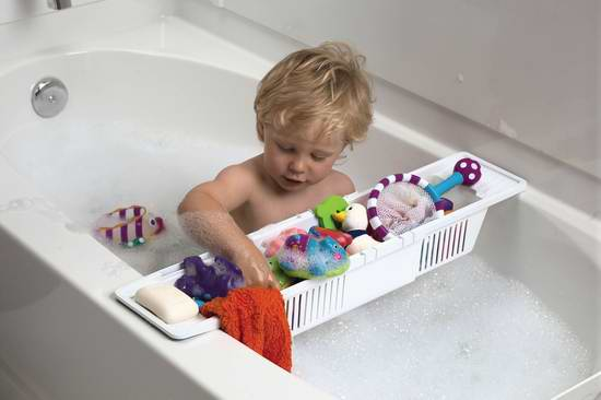 历史最低价!KidCo 浴缸儿童玩具/洗浴用品收纳篮 15.99元限时特卖!