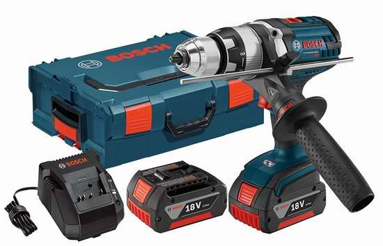 历史新低!Bosch 博世 HDH181X-01L 18伏重型电钻+双锂电池套装2.7折 186.31元限时特卖并包邮!