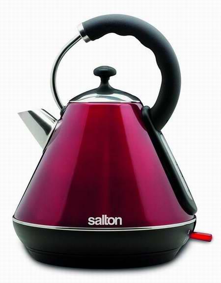 Salton JK1570 1.8升无绳不锈钢电热水壶 52.98加元限时特卖并包邮!