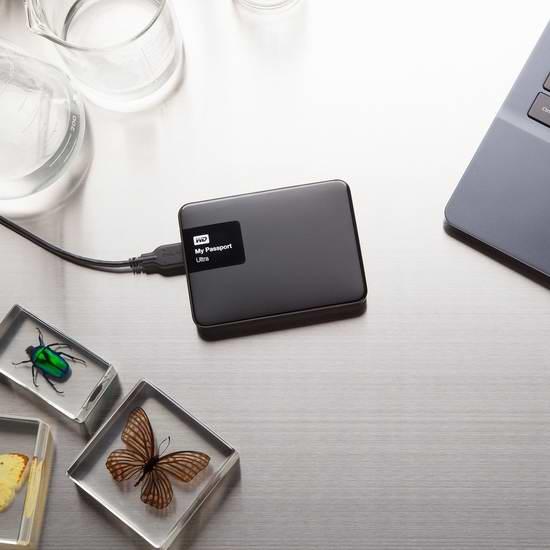 WD 1TB 超便携移动硬盘 69.99加元,原价 105.03加元,包邮