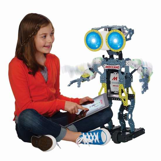 Meccano MeccaNoid G15 拼装变形智能机器人5.3折 111.29元限时特卖并包邮!