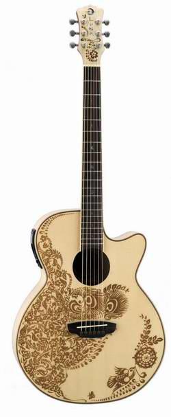 快!Luna Guitars Folk 系列 HEN O2 SPR Authentic电吉他0.4折 26.99元限时清仓!