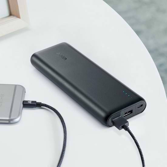 Anker 20000mAh 超大容量便携式移动电源/充电宝 35.99加元限时特卖并包邮!