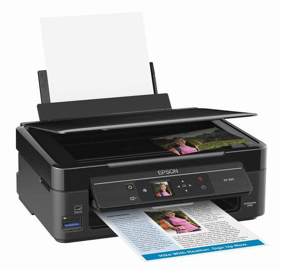 历史新低!Epson 爱普生 XP-330 无线多功能彩色照片打印机5.7折 39.99加元限时特卖并包邮!