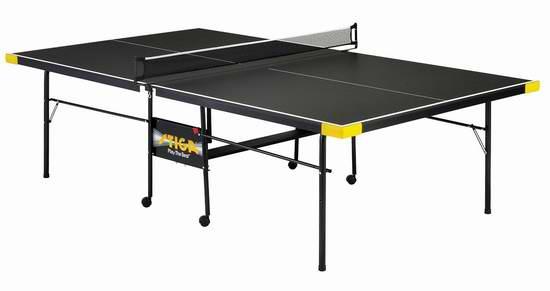 Stiga T8612 Legacy 折叠式娱乐级室内乒乓球桌5.3折 299.36加元限时特卖并包邮!
