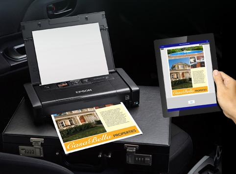 历史新低!Epson 爱普生 WorkForce WF-100 便携式无线移动彩色打印机5.7折 199.96元限时特卖并包邮!