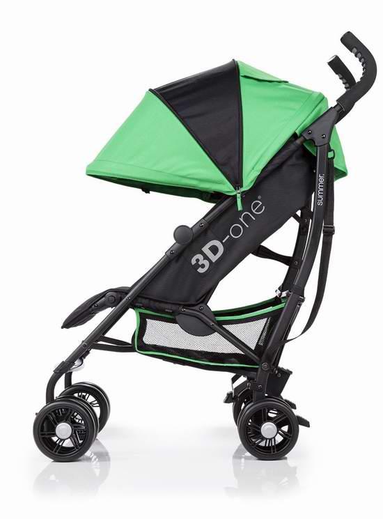 Summer Infant 3D One 超轻便婴儿推车 127.47加元限时特卖并包邮!3色可选!