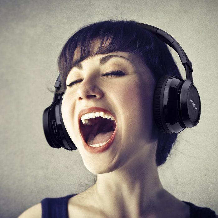 Mpow Thor 超长续航无线蓝牙头戴式耳机 28.79加元限时特卖并包邮!