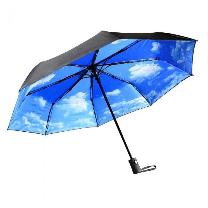 AUKEY 折叠防紫外线太阳伞/雨伞 16.99加元限量特卖(4色),原价 26.99元