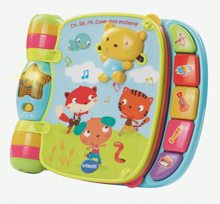 VTech 婴幼儿经典法语童谣音乐书 13.99元,原价 19.99元