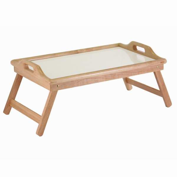 Winsome Wood 折叠式早餐床上托盘 26.38加元,原价 44加元