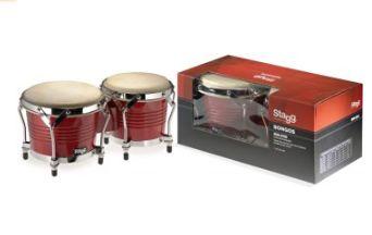 Stagg BW-200-CH 7.5和6.5英寸木制鼓 58.64元限量特卖,原价 125.99元,包邮