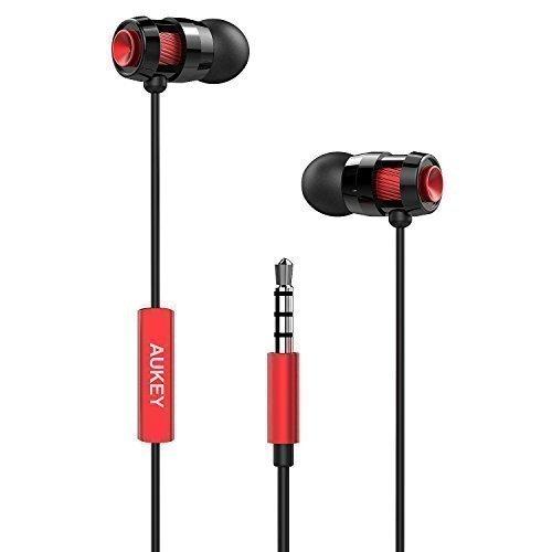 AUKEY 入耳式耳机 9.99元限量特卖,原价 13.99元