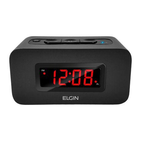Elgin数字闹钟+蓝牙音箱 9元,原价 39.96元