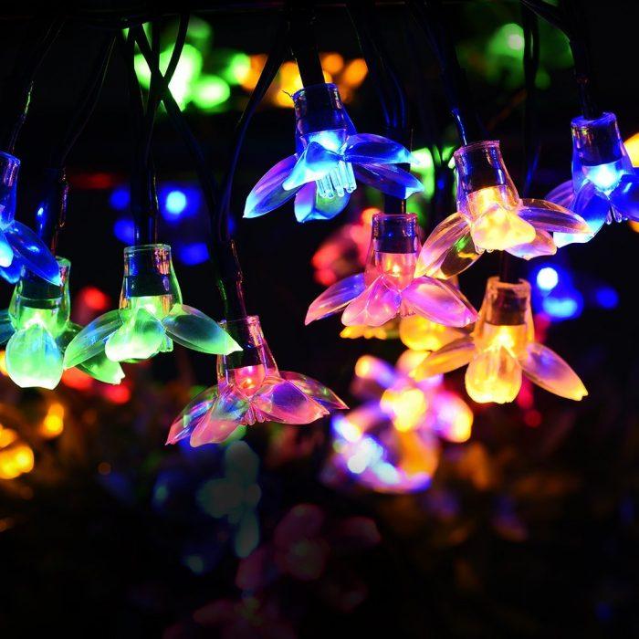 Litom 太阳能户外防水多色LED装饰灯 14.59元限量特卖,原价 24.99元