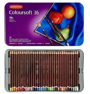 Derwent 得韵 36色水彩铅笔铁盒装 42.42元,原价 101元,包邮