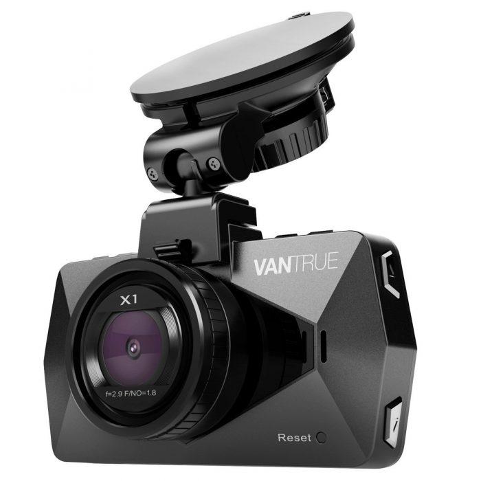 Vantrue X1 超高清广角夜视行车记录仪 99.99加元限量特卖,原价 159.99元,包邮
